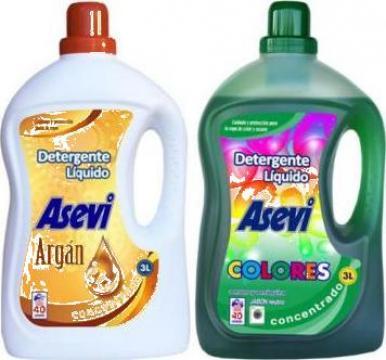 Detergent rufe lichid Asevi cu ulei de Argan si rufe Colorat de la Sc Kpaspi Transilvania Srl