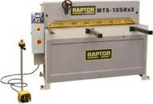 Ghilotina hidraulica Raptor MTS 1350 Digital de la Seta Machinery Supplier Srl
