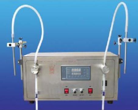 Masina de umplere ulei lichid cu pompa magnetica (dublu)