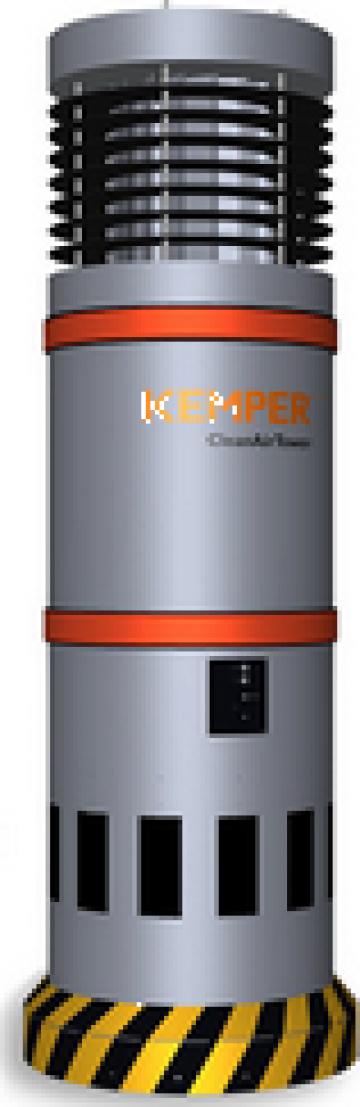 Echipament exhaustare fum CleanAirTower Kemper de la Bendis Welding Equipment Srl