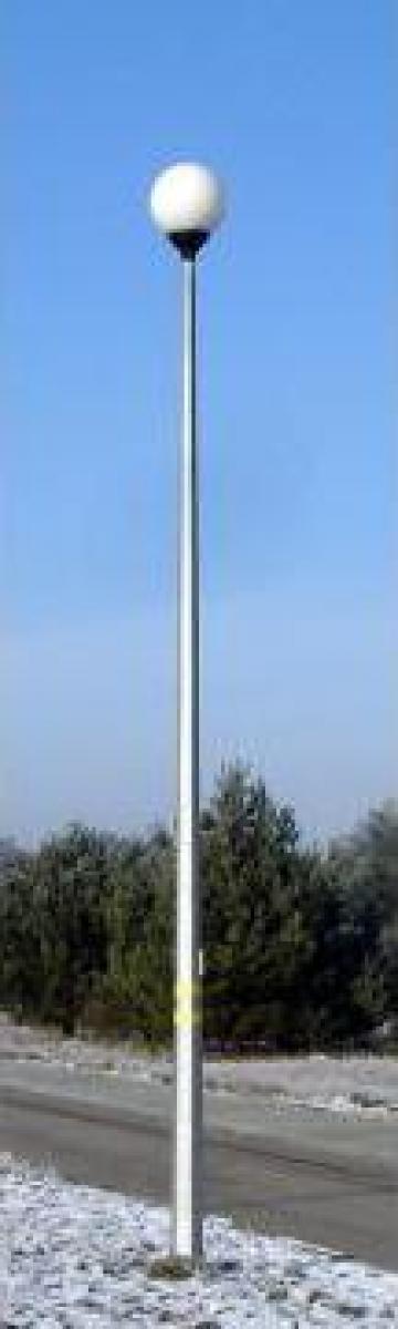 Stalp iluminat parc conic-hexagonal de la Rezmat