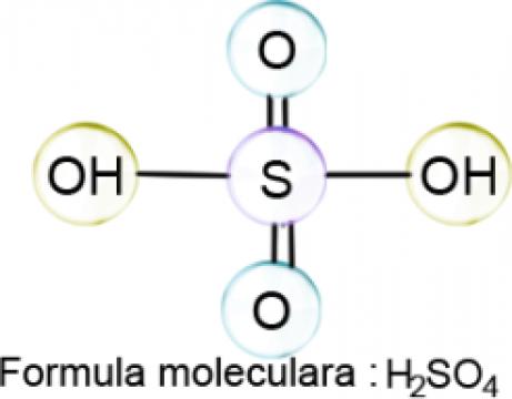 Acid sulfuric pentru acumulatori - 5l