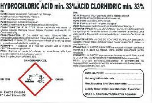 Acid clorhidric de la Zaharia D. Dorinel I.I.