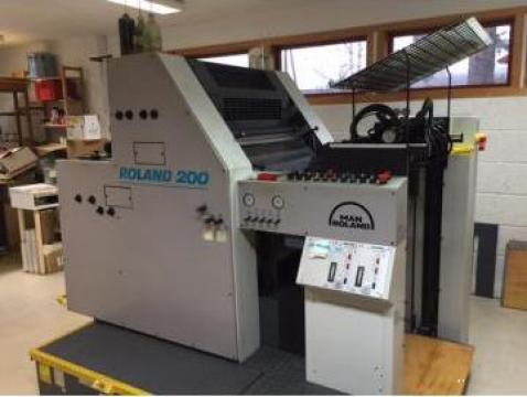 Masina de tiparit offset Man Roland 202 TOB