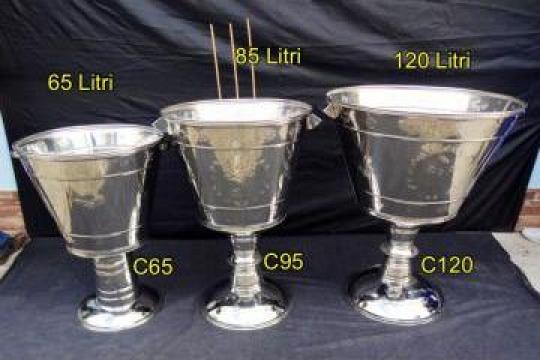 Cristelnita inox alimentar 65, 85, 120 litri