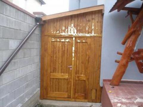 Magazie de lemn de la PFA Georgescu Leonard