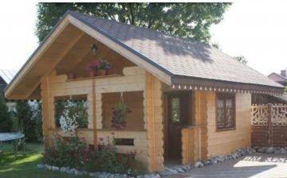 Cabana din lemn de la I.i. Axane Dumitru