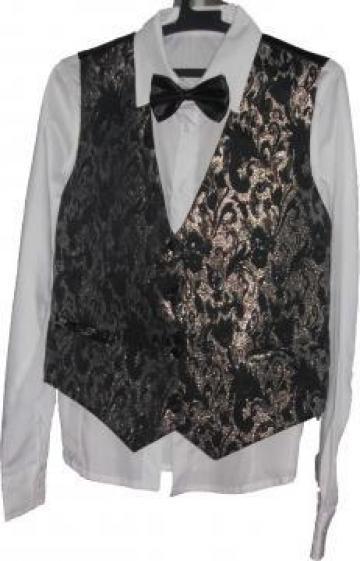 Papion negru pentru camasa de la Johnny Srl.