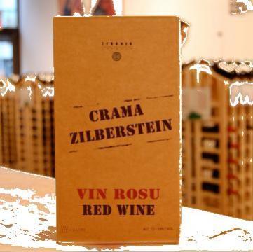 Vin rosu cu sistem bag-in-box de la Teravin Srl