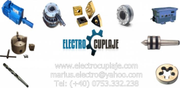 Freza carbura cilindro-frontala 4 dinti 2mm de la Electrofrane