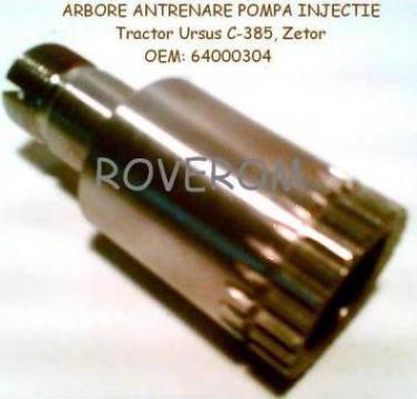 Arbore antrenare pompa injectie Ursus C-385, Zetor