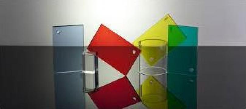 Plexiglas Colorat de la Geo & Vlad Com Srl
