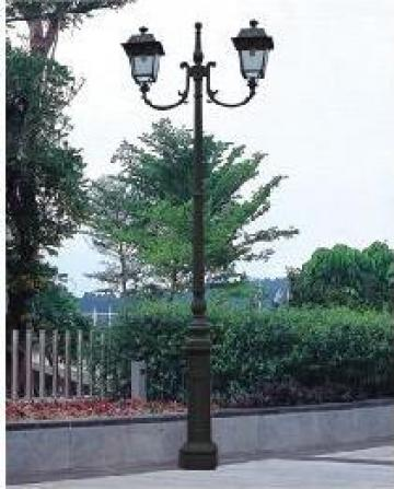 Stalp iluminat parc din aluminiu PLGSA11 de la Palagio System Group