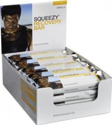 Baton proteic Squeezy Recovery Bar 50 g de la Squeezy Sports Nutrition Romania