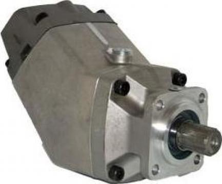 Pompa hidraulica cu pistonase dublu circuit