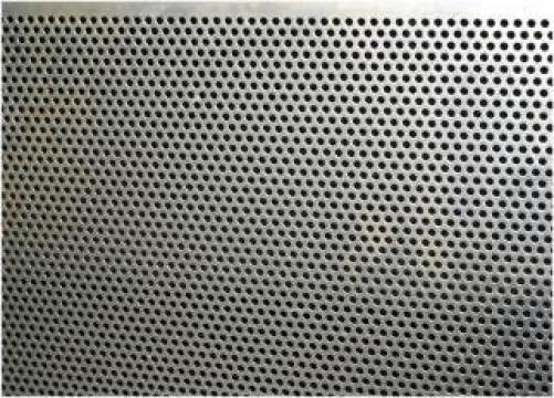 Tabla perforata otel perforatii rotunde
