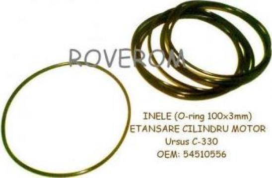 Inele (o-ring) etansare cilindru motor Ursus C-330 de la Roverom Srl