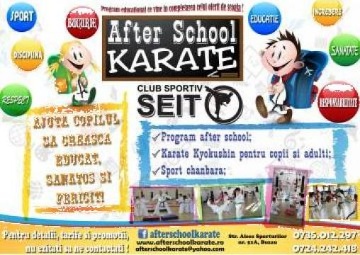 After school Kyokushin karate