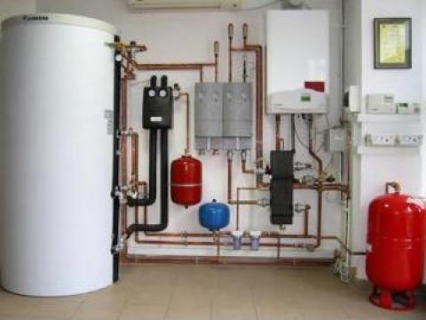 Montaj centrale termice, gaze, instalatii termice de la Nic Instal Construct