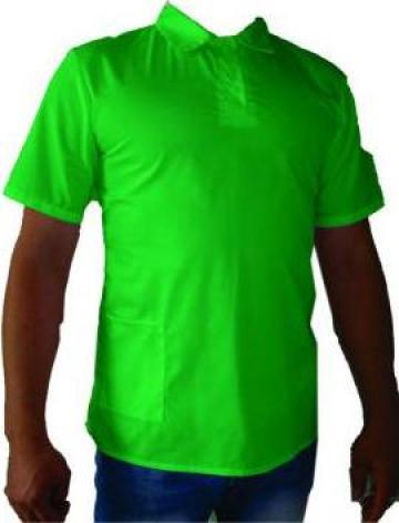 Tricou polo verde pt. servire de la Johnny Srl.