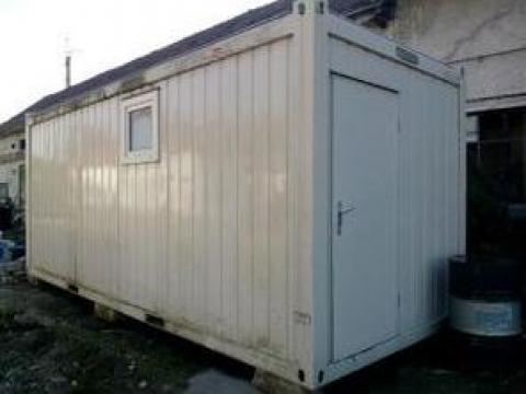 Container sanitar cu 4-6 cabine wc pt. barbati / femei