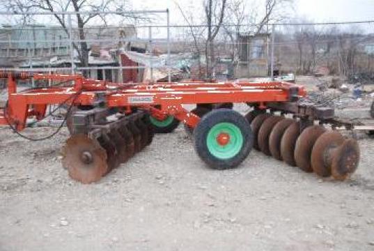 Disc agricol 3,5 metri latime, pliabil Razol