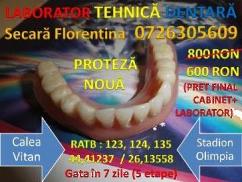 Proteze dentare de la Laborator Tehnica Dentara - Secara Florentina