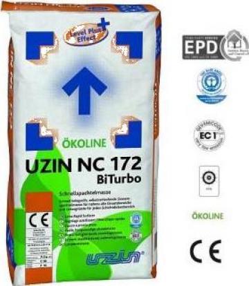 Sapa autonivelanta turbo Uzin NC 172 BiTurbo