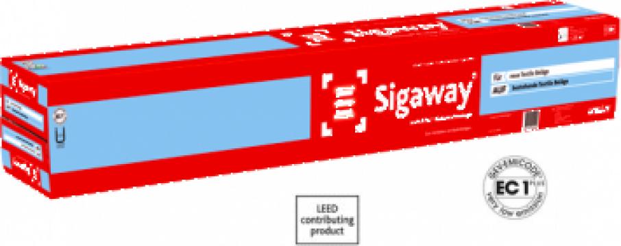 Adeziv rapid uscat pentru mocheta si textile Sigaway