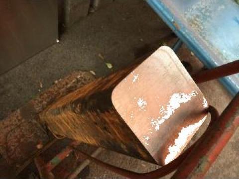 Bara otel patrat 120x120x750 mm, greutate 86 kg de la Baza Tehnica Alfa Srl
