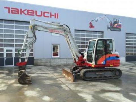 Inchiriere excavatoare Takeuchi Cluj de la Sc SFR Mini Excavatoare Srl