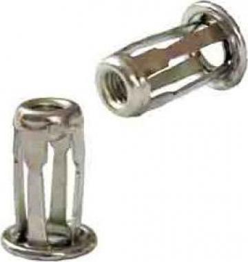 Piulite nit cap cilindric pentru plastic