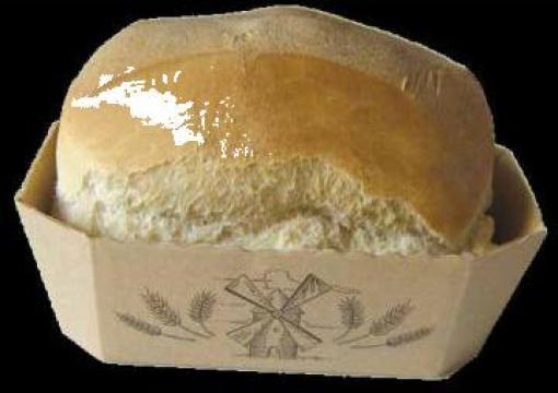 Forma din carton pentru copt paine de la Cristian Food Industry Srl.