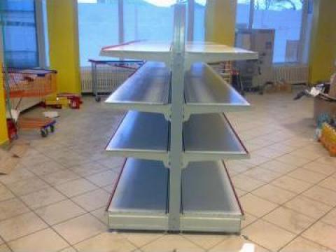 Gondole, rafturi de mijloc pentru magazine