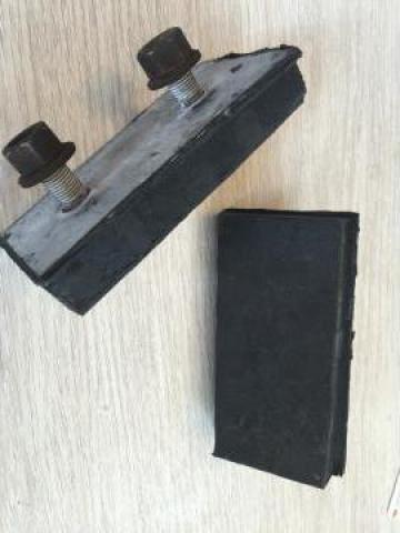 Cauciucare tampon l 60 mm x L 130 mm x h 13 mm de la Baza Tehnica Alfa Srl
