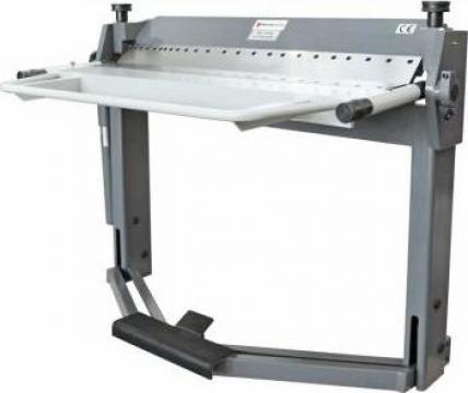 Abkant manual de indoit table PBB 1270x2,0 mm de la Cod 5A Prodcomserv Srl