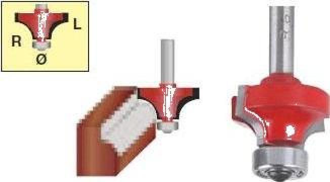 Freza convexa + rulment 7915-012 de la Nascom Invest
