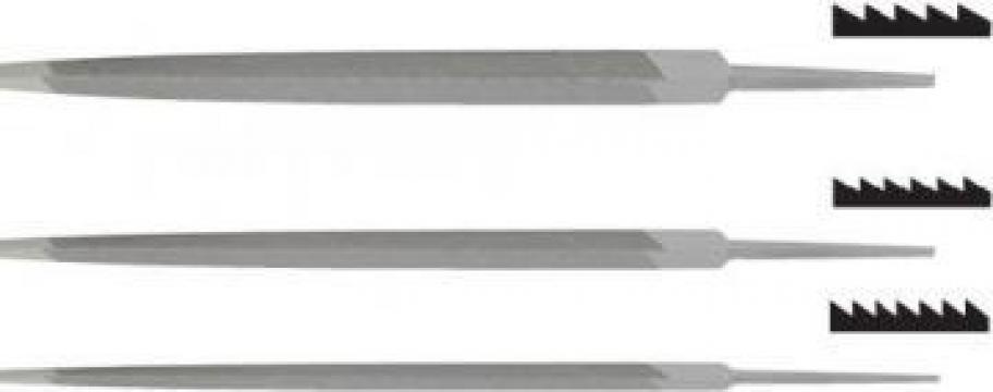 Pile triunghiulare de fierastrau 7405-031 de la Nascom Invest