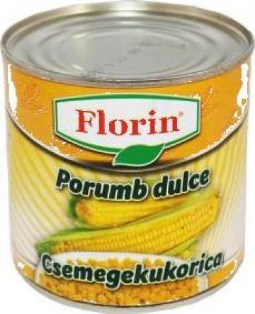 Conserva porumb dulce Florin 400g