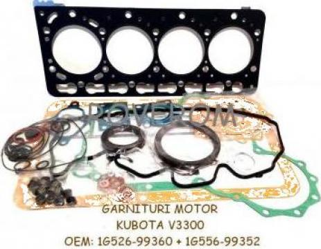 Garnituri motor Kubota V3300, V3300-DI