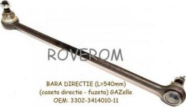 Bara directie Gaz-3302, Gazelle, caseta-fuzeta, 540mm de la Roverom Srl