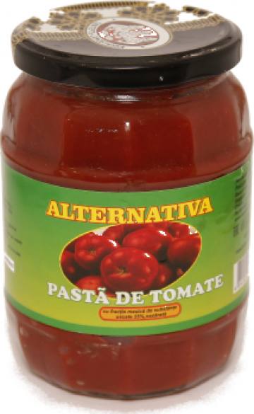 Pasta de tomate de la Alternativa Trade Srl