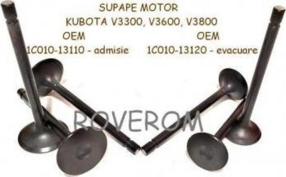 Supape motor Kubota V2403 V3300, V3600, V3800