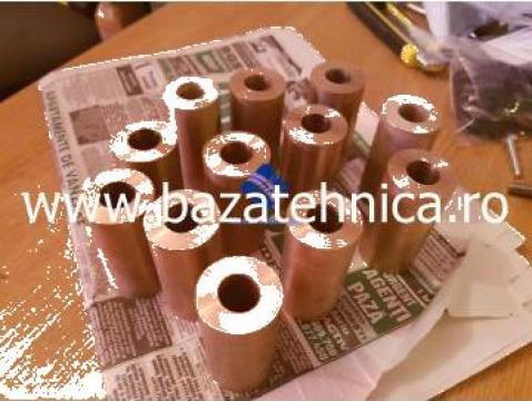 Bucsa de bronz fi 15 x fi 30 x h 60 mm de la Baza Tehnica Alfa Srl