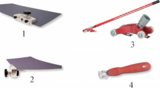 Instrumente de taiat pentru montare pardoseli