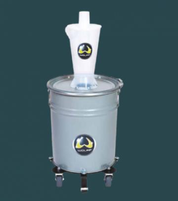 Preseparator puternic filtreaza impuritatile grosiere, praf
