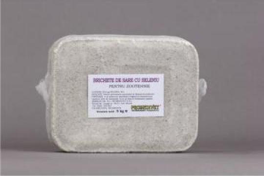 Brichete de sare cu seleniu de la Promedivet