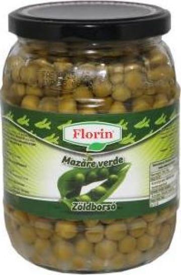 Conserva mazare verde 720ml Florin