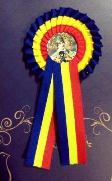 Cocarda tricolor Avram Iancu de la Candela Criscom Srl.