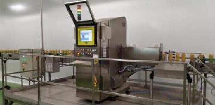 Detector X-Ray particule straine in produse alimentare de la SC Tehnoviluti SRL